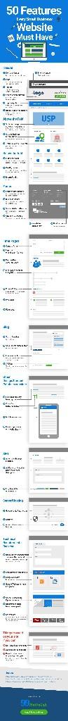 Infographics And Web Development - Magazine cover