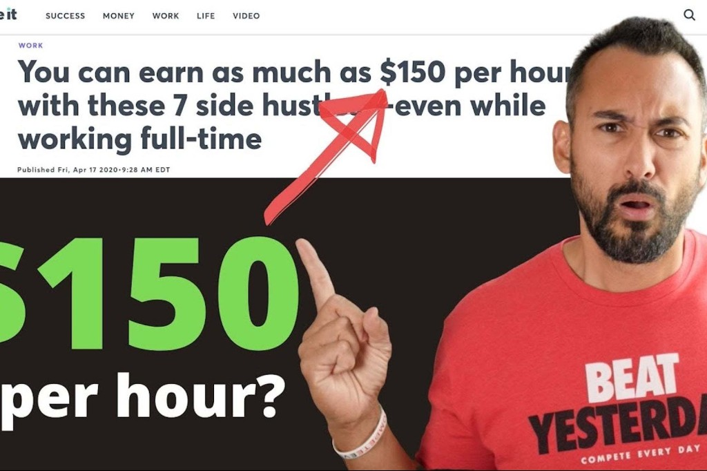 7 Side Hustles That Pay $150 Per Hour
