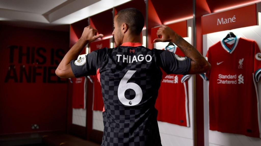 Liverpool sign Thiago from Bayern Munich on long-term deal