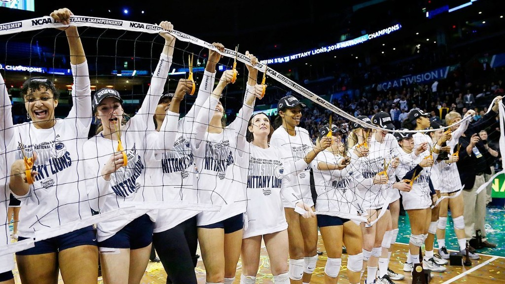 Penn St. opens No. 1 in preseason volleyball poll