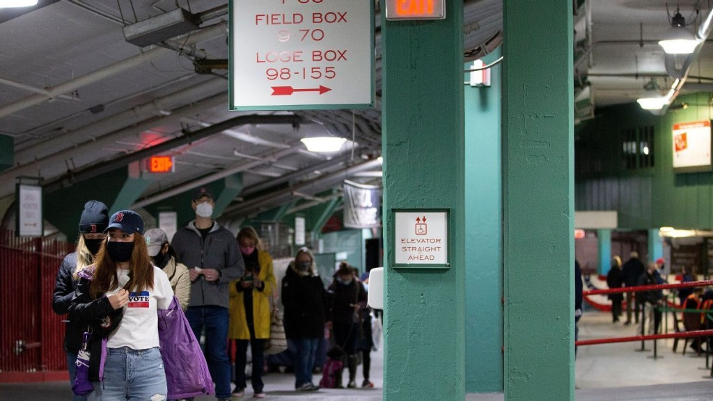 Fenway first: Red Sox's ballpark becomes voting venue amid pandemic