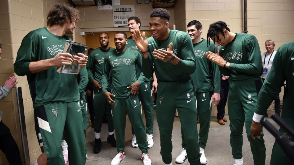 Inside the Milwaukee Bucks' WWE-style pregame routine
