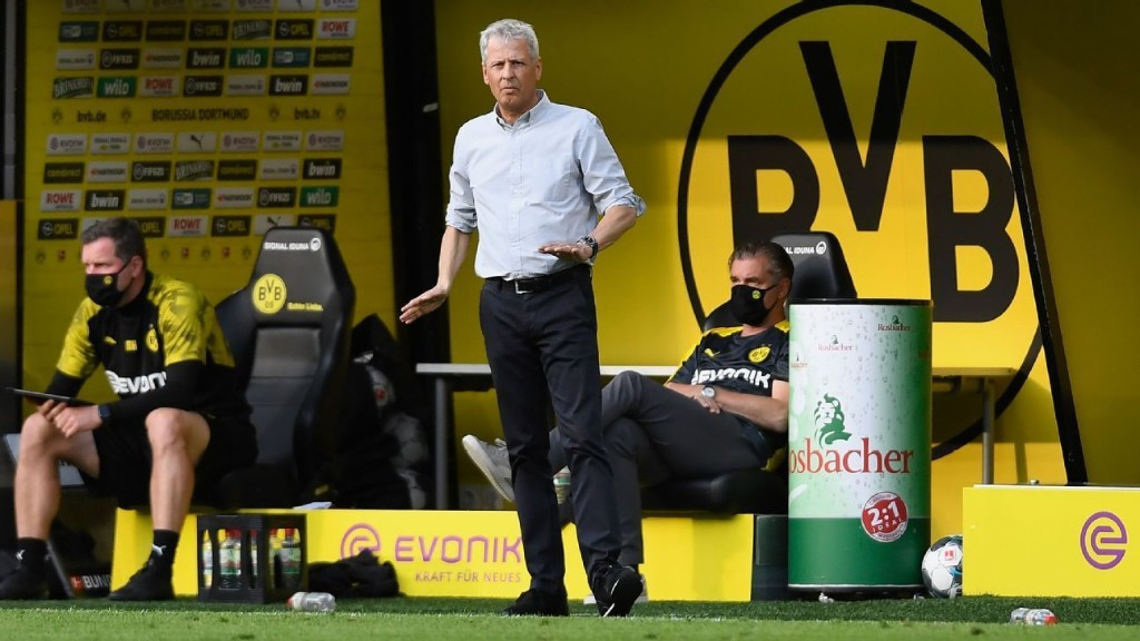 Dortmund boss Favre hints at exit after Bayern defeat