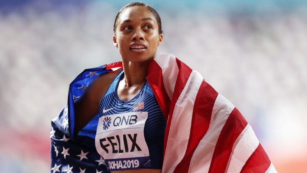Olympic postponement just another obstacle for Allyson Felix to overcome