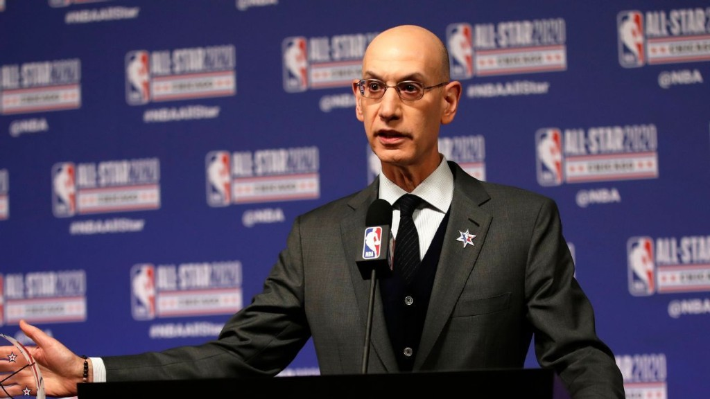 Adam Silver pondering if older coaches should be on bench when NBA returns
