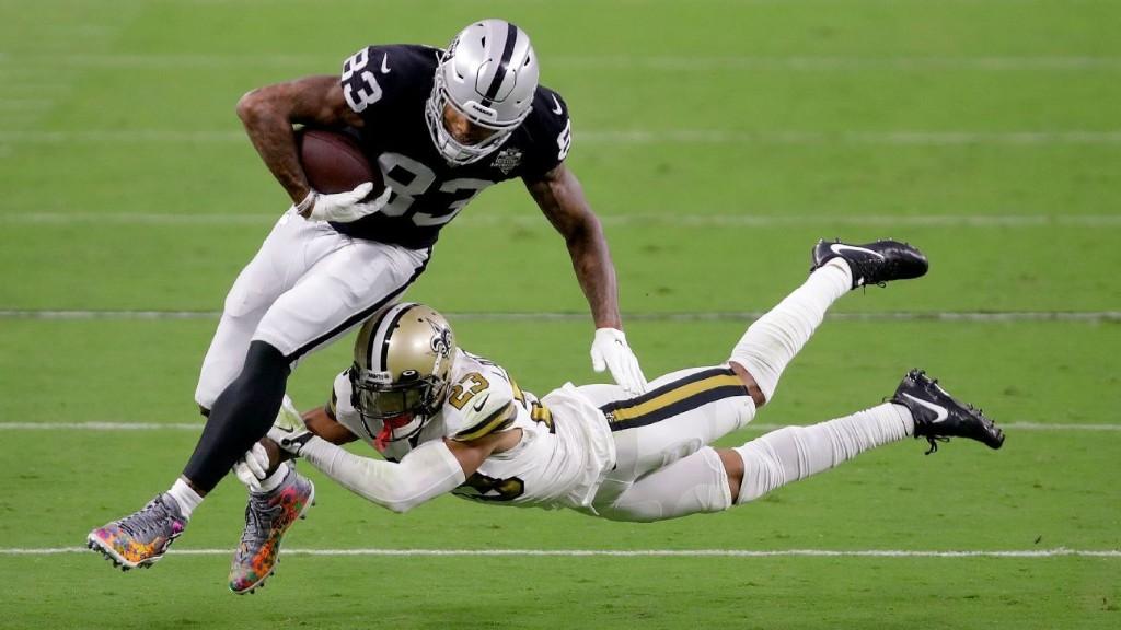 Source: Las Vegas Raiders expect Darren Waller, Josh Jacobs to face New England Patriots