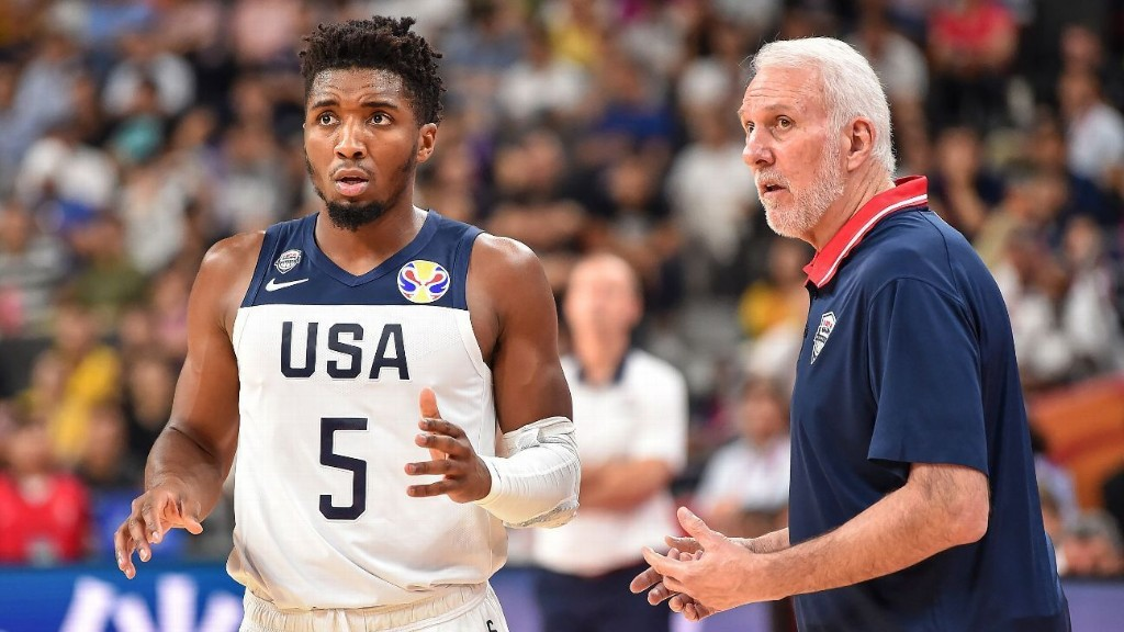 USA's 58-game win streak with NBAers snapped