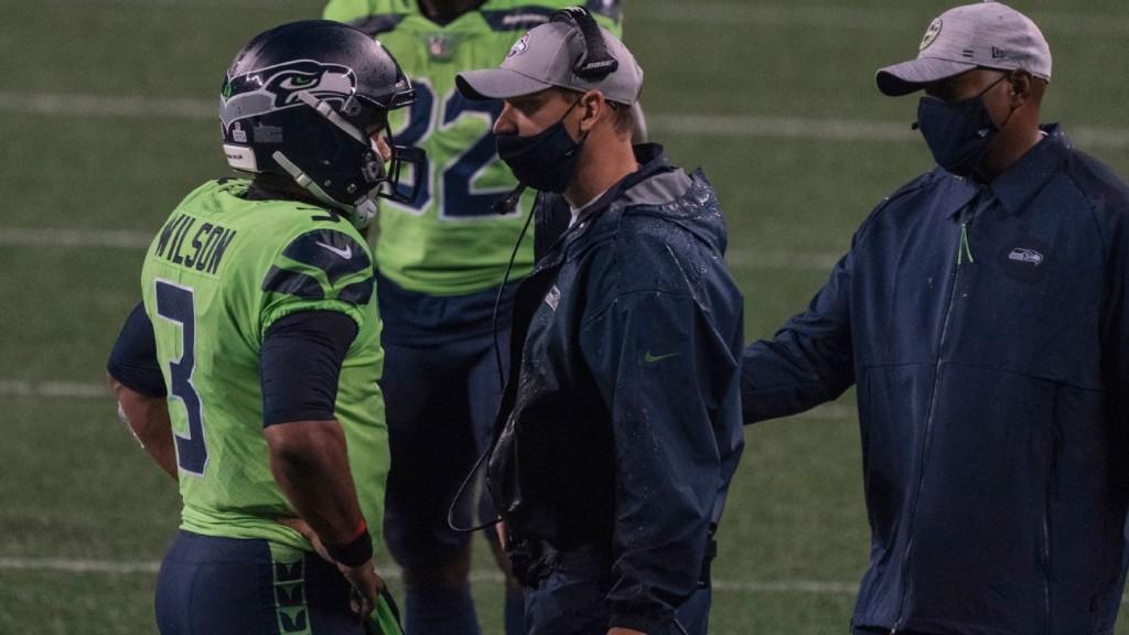Seahawks OC Brian Schottenheimer getting bird's-eye view of Russell Wilson's brilliance