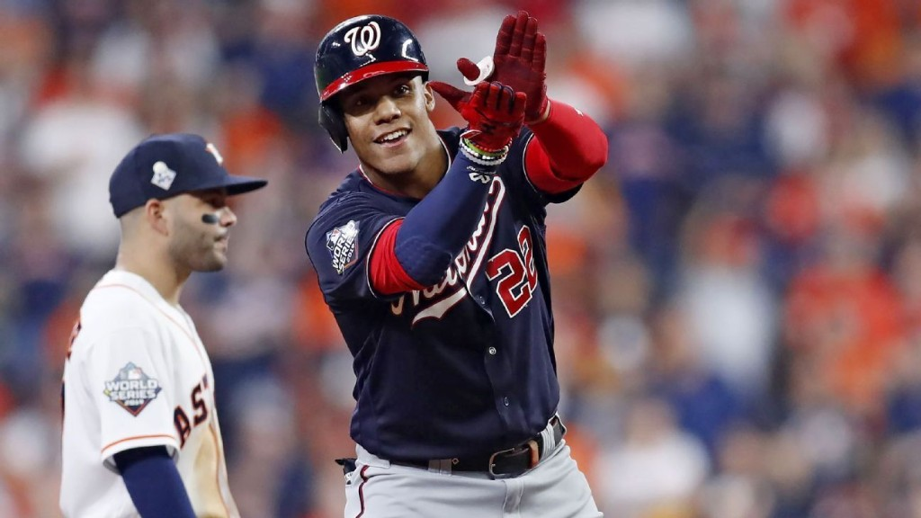 Juan Soto getting to Gerrit Cole turned the World Series upside down