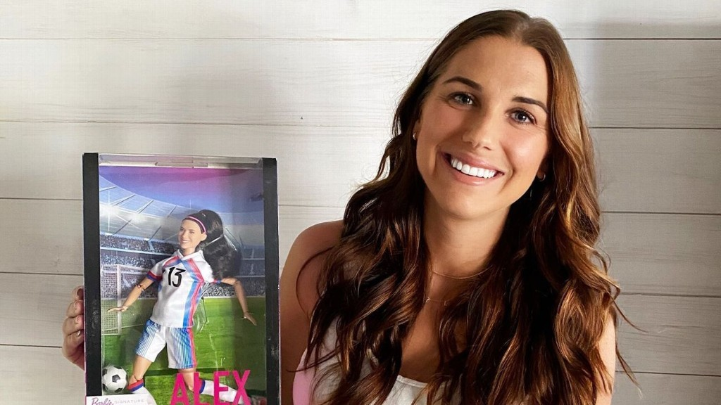 USWNT's Alex Morgan gets own Barbie; joins Messi, Ronaldo in world of soccer action figures