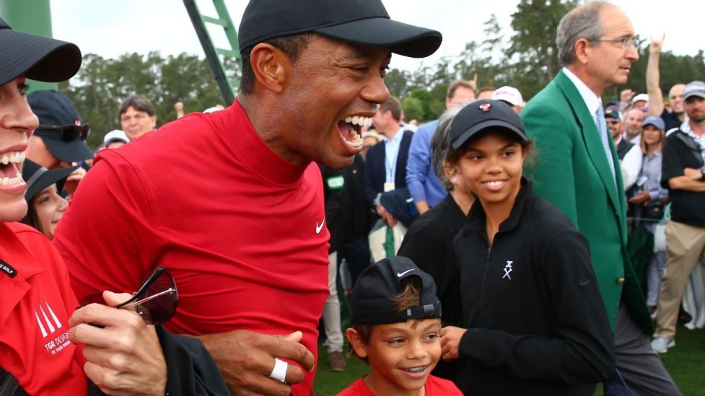 Justin Thomas: Tiger Woods' son, Charlie, talks trash just like his dad