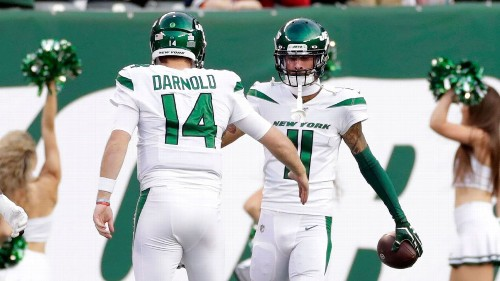 New York Jets QB Sam Darnold's 92-yard touchdown pass to Robby Anderson a highlight in his return against Dallas Cowboys