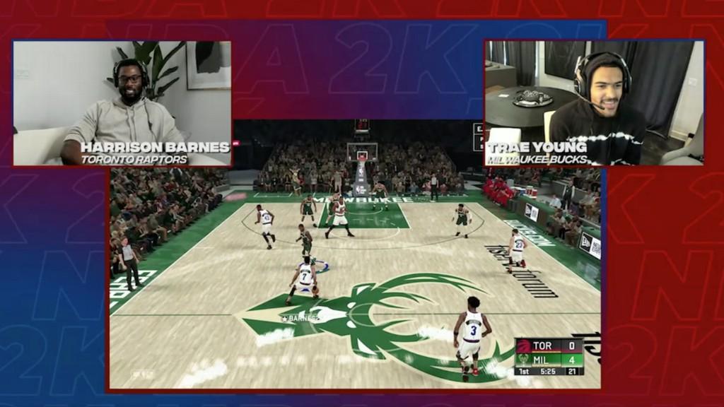 Overheard during the NBA 2K Players Tournament