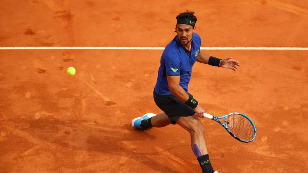 Fognini has arthroscopic surgery on both ankles