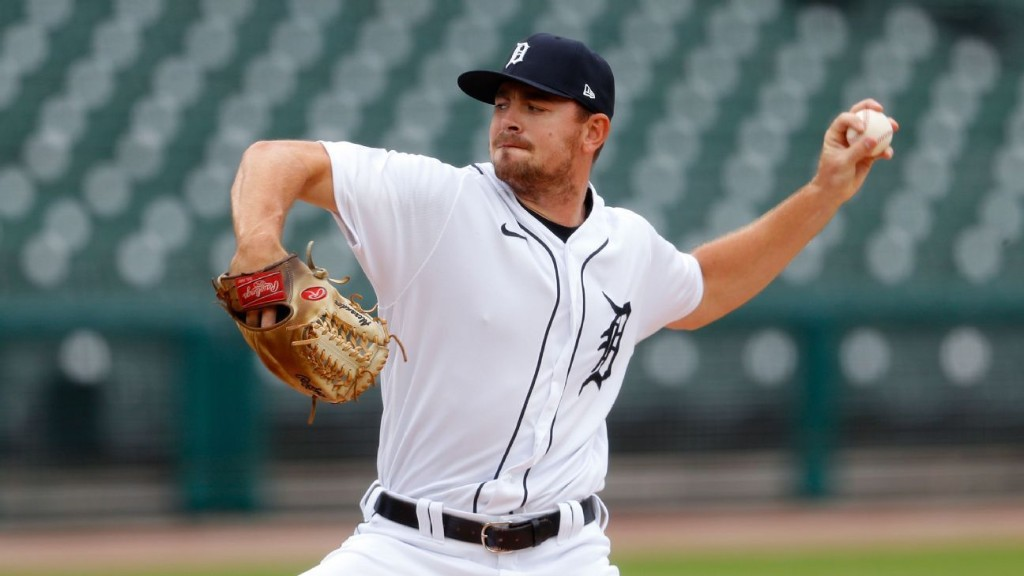 Tigers' Tyler Alexander ties AL mark for strikeouts in a row