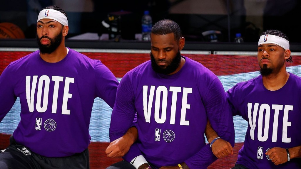What the work behind political change looks like for LeBron and star athletes
