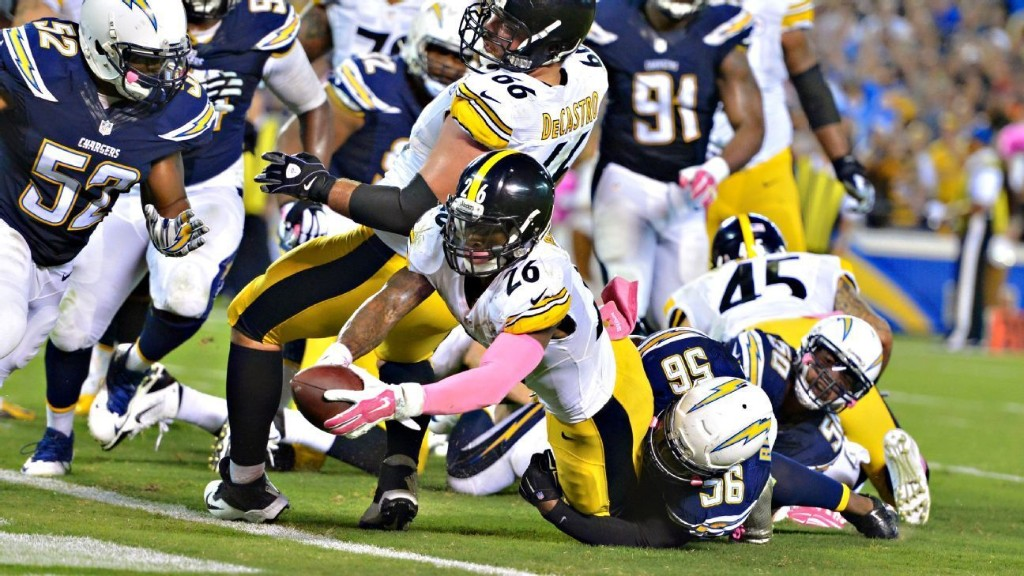 How to watch Monday Night Football classics: Le'Veon Bell's walk-off TD beats Chargers