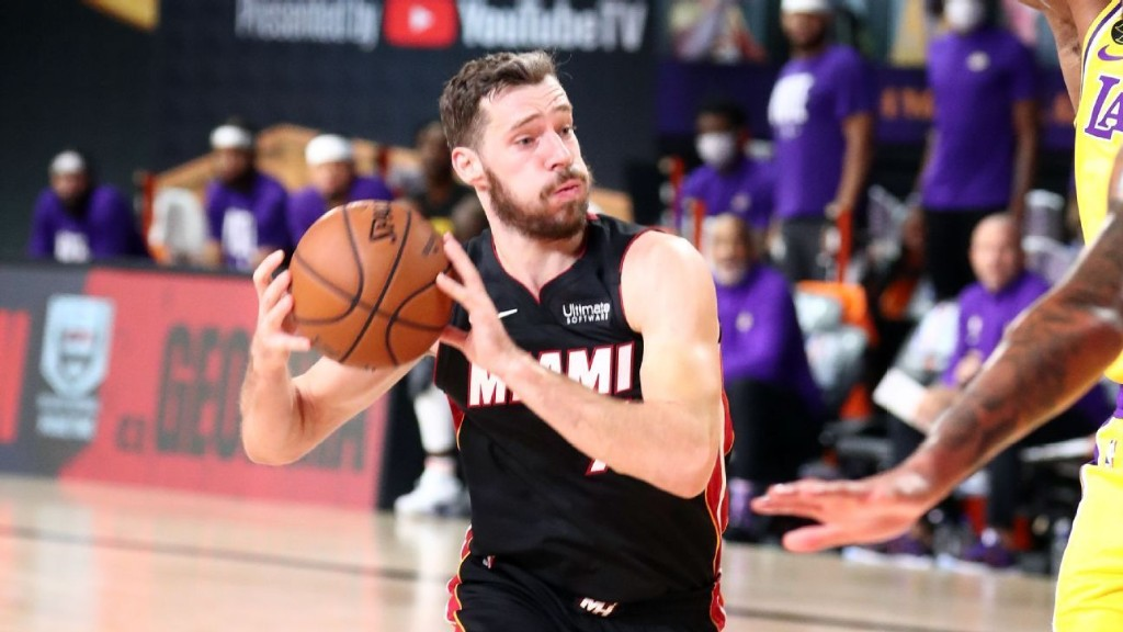 Miami Heat's Goran Dragic, Bam Adebayo exit with injuries in loss to Los Angeles Lakers