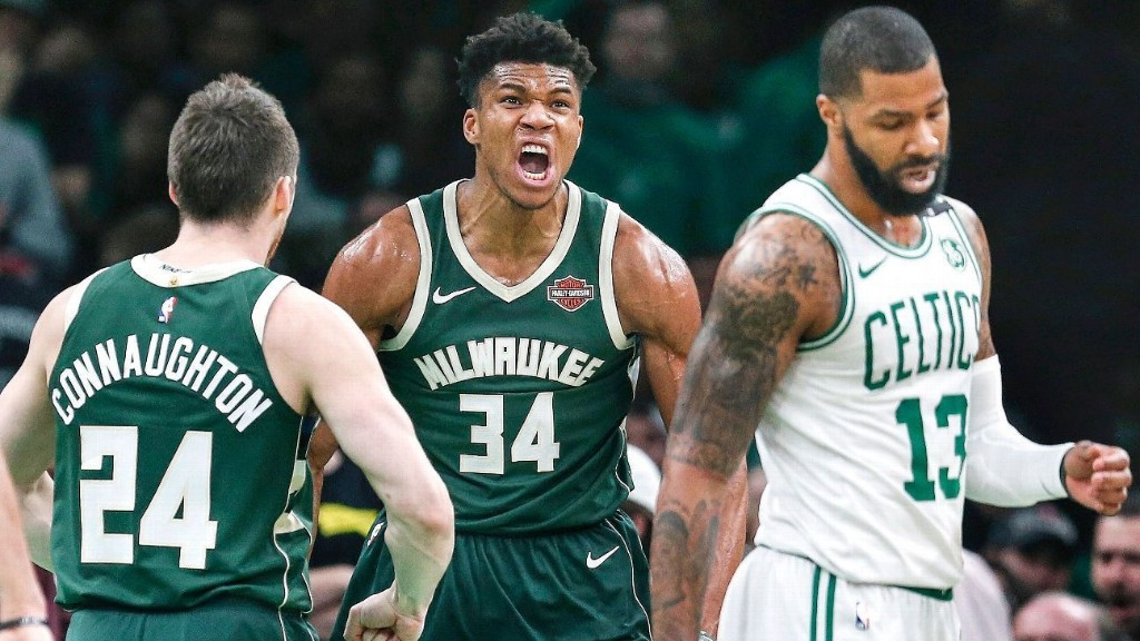 Giannis and the Bucks have reclaimed juggernaut status