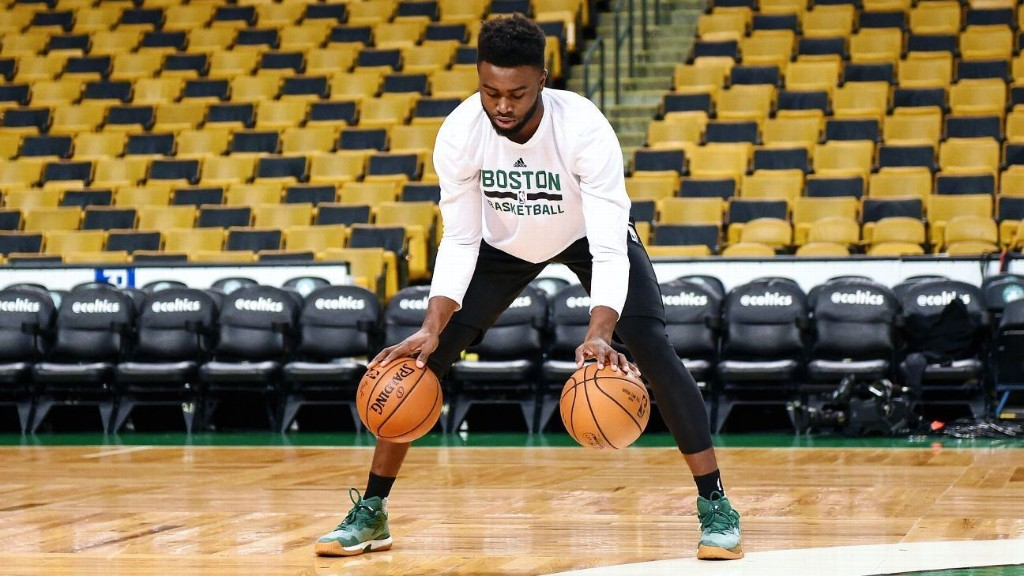 NBA playoffs: The Celtics' Jaylen Brown is a player for this moment