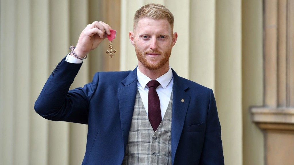 Ben Stokes, Jos Buttler collect royal honours at Buckingham Palace ceremony
