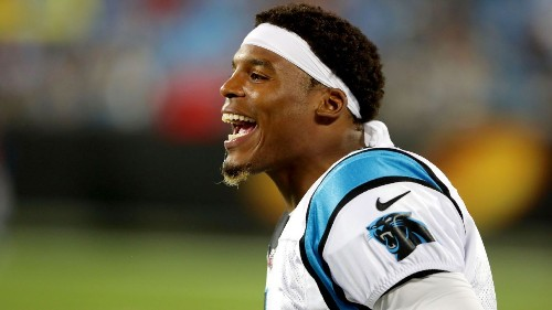 Cam Newton: Was paying female reporter compliment, but 'sarcasm' failed