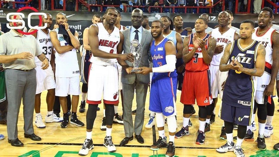 NBA stars, legends shine as Team World rallies to beat Team Africa