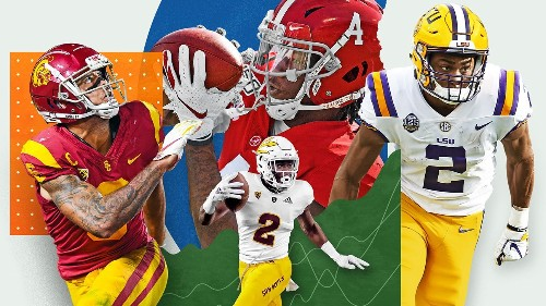 Two rounds, 64 picks and 12 WRs: McShay's new NFL Mock Draft goes deep