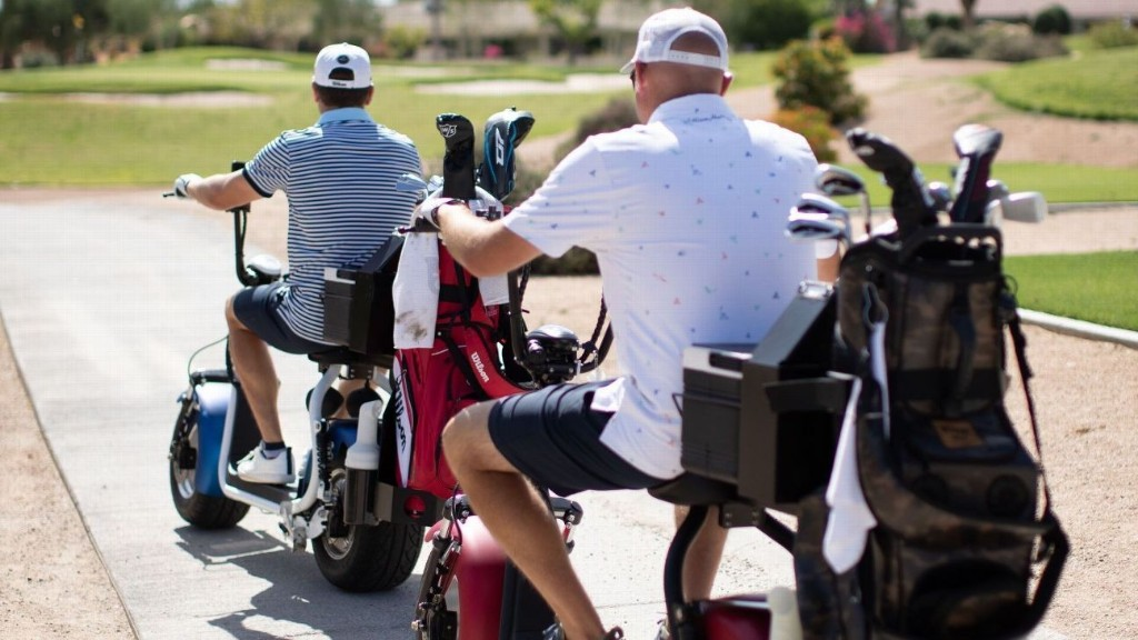 How a pandemic could be forever altering the golf cart