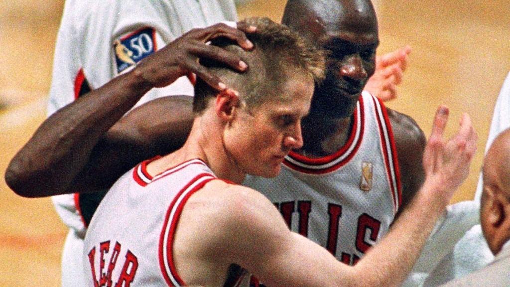 Steve Kerr not proud of infamous practice scuffle with Michael Jordan