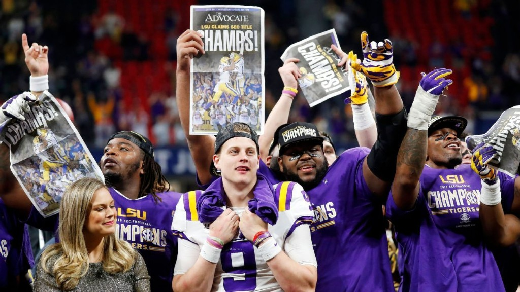 Sorry, Ohio State and Clemson, but LSU is the true No. 1 in a loaded College Football Playoff field