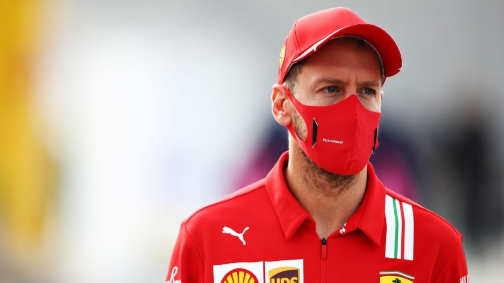 Vettel admits Leclerc in 'another class' at Portuguese GP