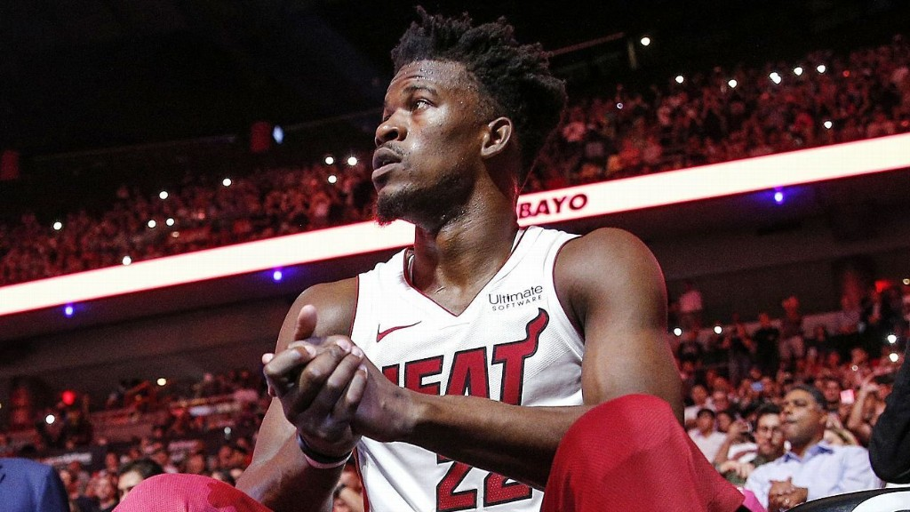 Heat's Jimmy Butler wants no name on back of jersey