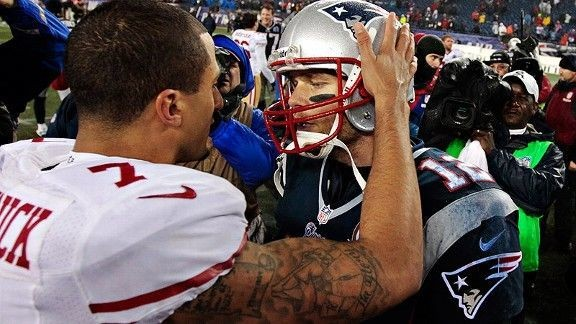 Tom Brady on Colin Kaepernick: 'I hope he gets a shot'