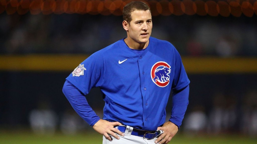 Chicago Cubs' Anthony Rizzo on missing Opening Day, coping with 'strange time'