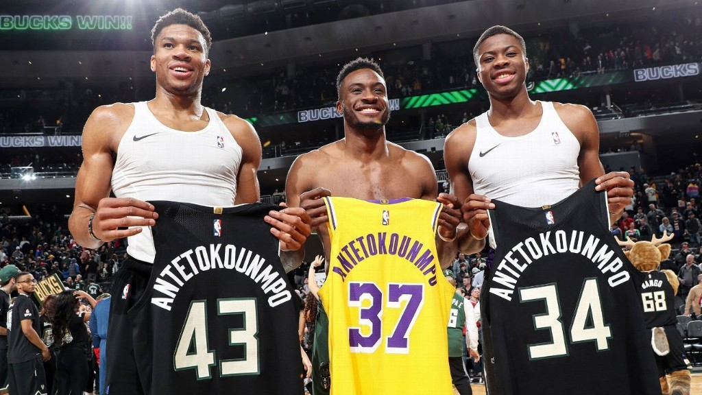 The quiet inspiration behind the Antetokounmpo brothers' stunning success