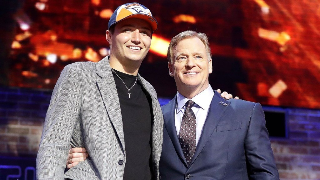 Goodell: NFL draft now gives sports world hope