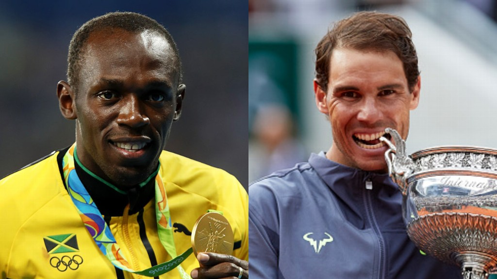 Fan vote: Rafael Nadal at French Open beats Usain Bolt at Olympics in final