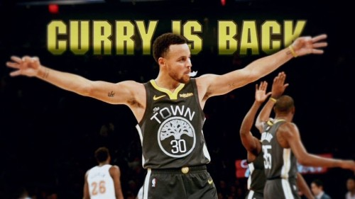 Steph Curry Is Back