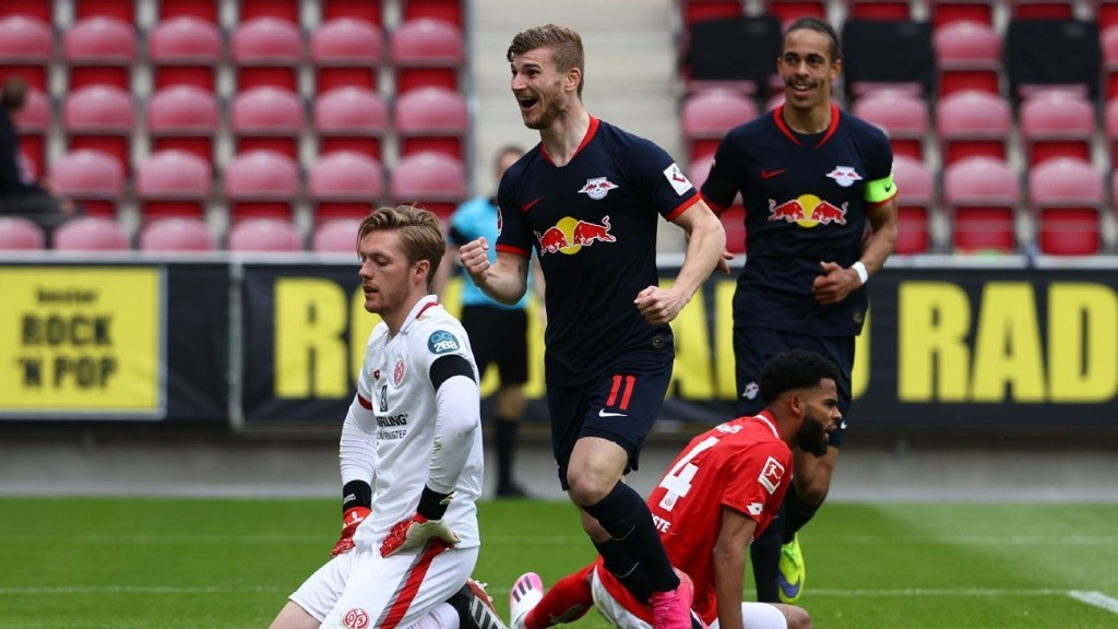 Werner, RB Leipzig put on a show, Bundesliga leaders Bayern stay clear on top, but Dortmund stay in touch