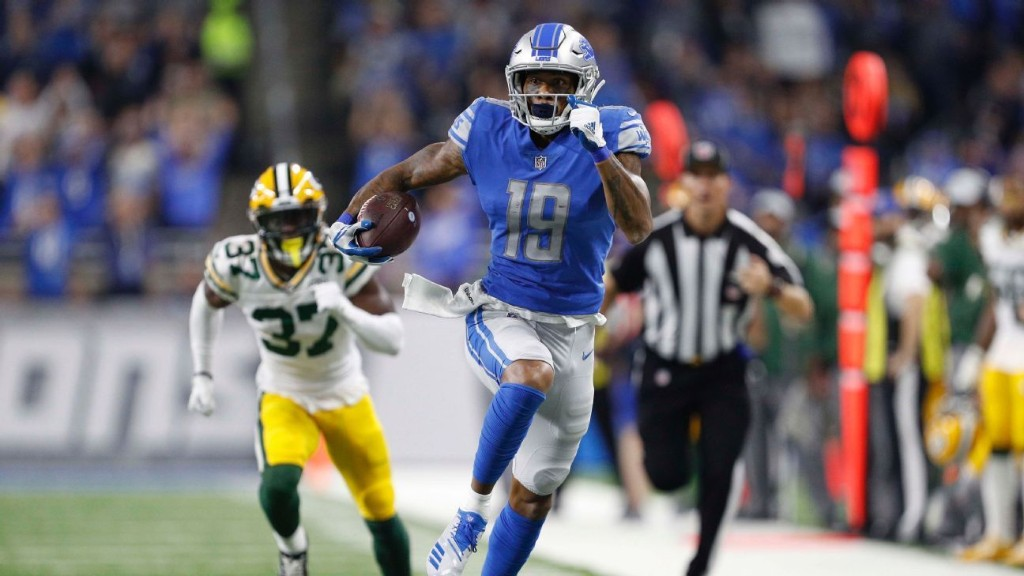 Is Lions' Kenny Golladay on track to become one of the NFL's top wide receivers?