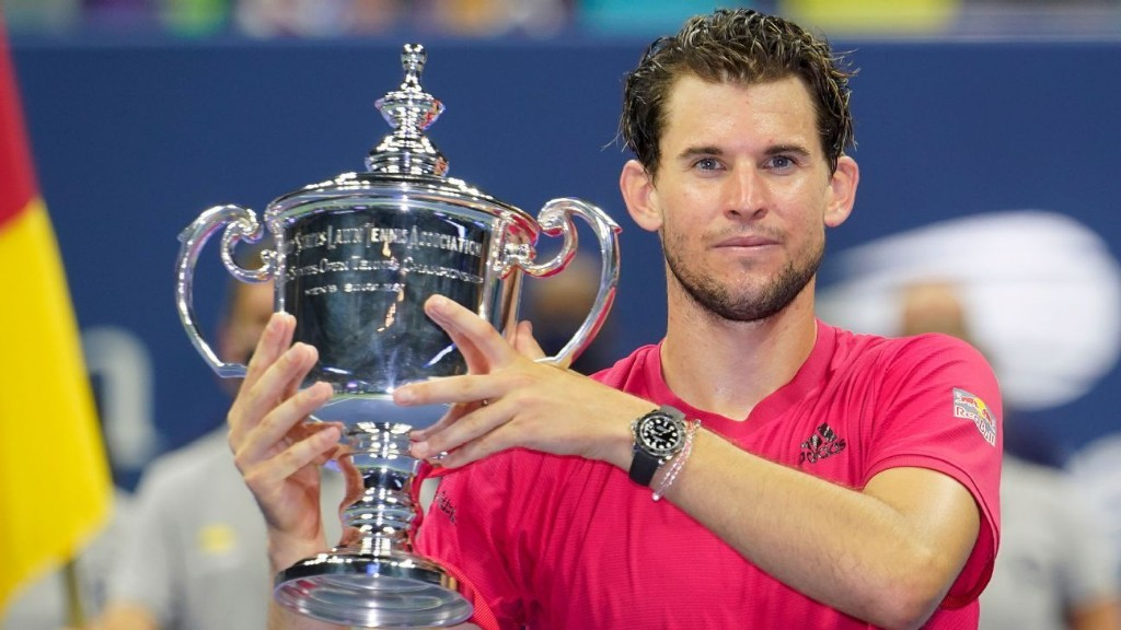 Dominic Thiem first man born in 90s to win a Grand Slam: Best stats from the 2020 US Open men's singles final