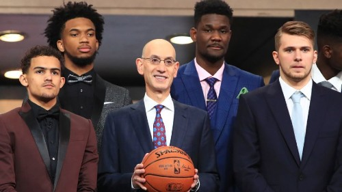 Six big winners from the NBA draft's first round