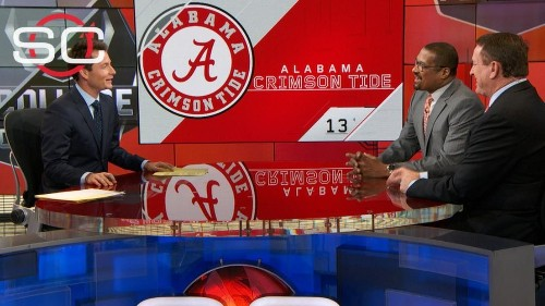 Saban lashes out at media that 'buried' Alabama