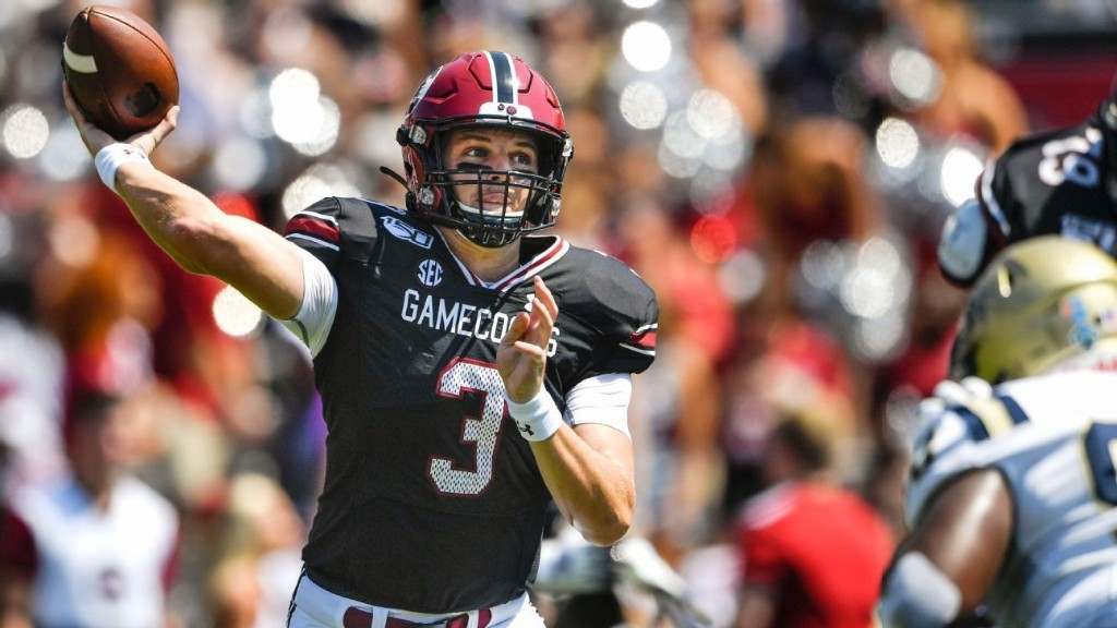 'Tyler's here with us': South Carolina QB Ryan Hilinski plays for his family