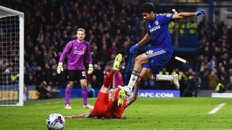 Chelsea's Diego Costa - 'I'm not going to change my way of playing'