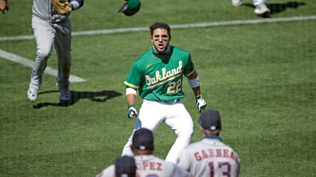 Brawls and bad hops: A's, Astros and Angels make the West wild