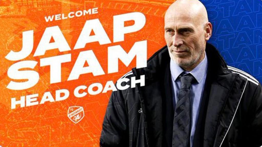 FC Cincinnati hire Jaap Stam, use photo of man who isn't Jaap Stam, MLS rivals do the rest