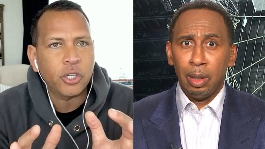 Stephen A. is incredulous at A-Rod's pick for MLB's biggest star - ESPN Video