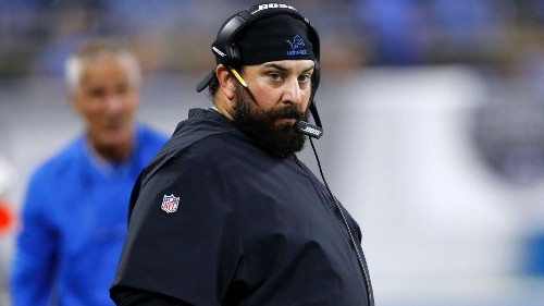 Lions' Patricia wheels into camp after surgery